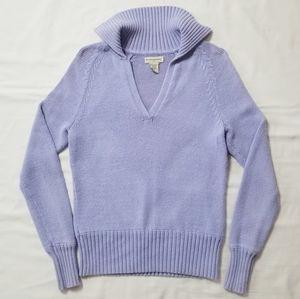 BANANA REPUBLIC Purple Knit Sweater